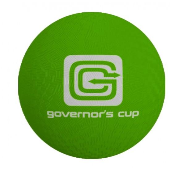 "Custom Logo 2-Ply Rubber Playground Ball - 5"""
