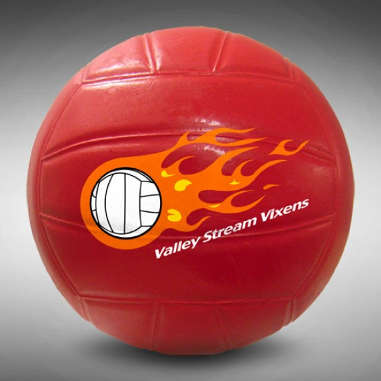 "Custom Logo Large Volleyball - 6"""