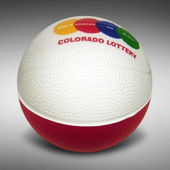 "Custom Logo Mini Basketball - 4"""