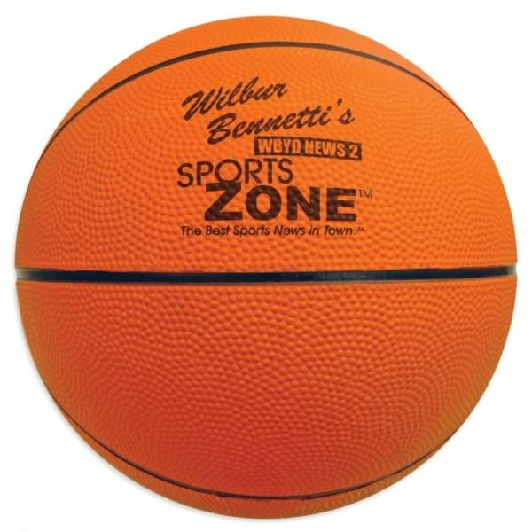 2ea35aa3d0b Custom Logo Full Size Rubber Basketball