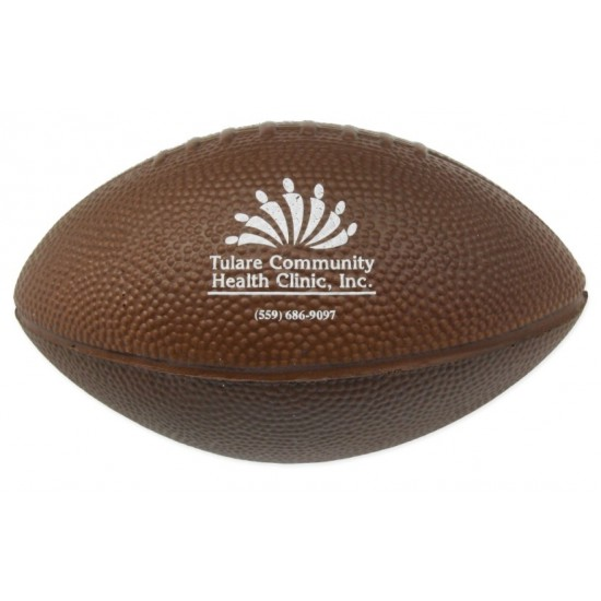 "Custom Logo Foam Football (7"")"