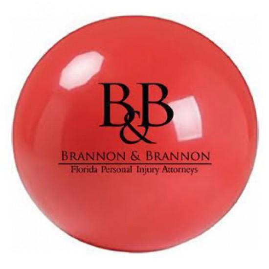 "Custom Logo Vinyl Play Ball - 4"""