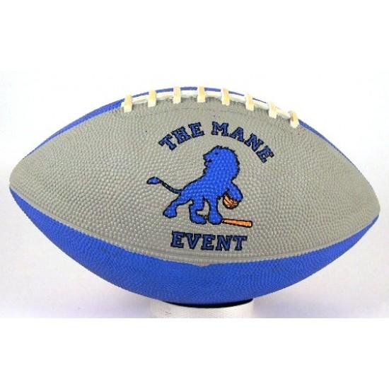 "Custom Logo Intermediate 10.5"" Football (Rubber)"