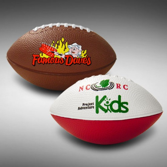 "Custom Logo Express 5"" Foam Pee Wee Football"