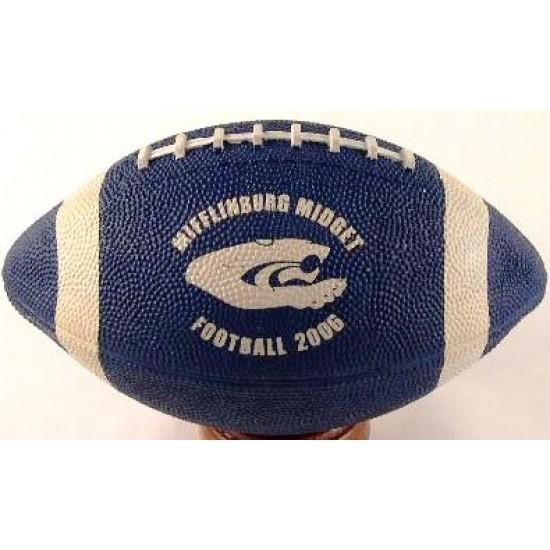 "Custom Logo Micro 6.7"" Football (Rubber)"