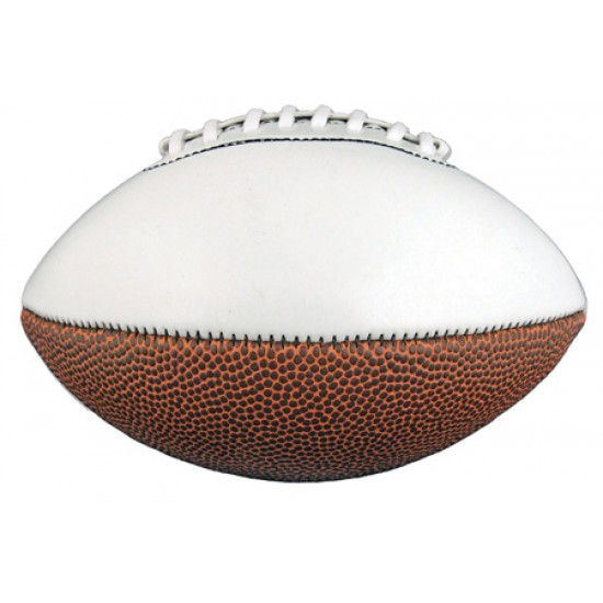 Custom Logo Full Size Synthetic Leather Signature Football