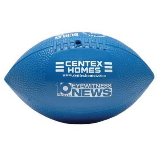 """Custom Logo Mini Reinflatable Vinyl Football - 7"""""""