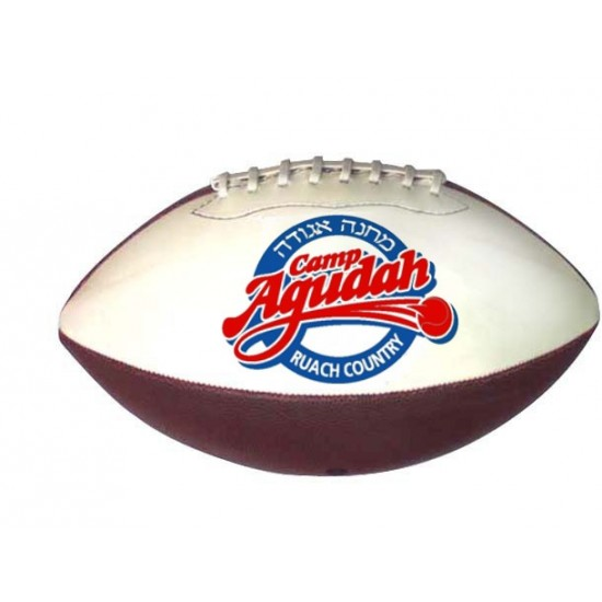 "Custom Logo Micro 6.7"" Synthetic Leather Football"